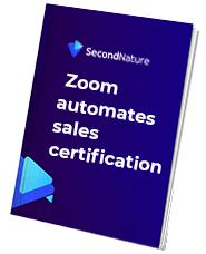 Case study: Zoom automates sales certification
