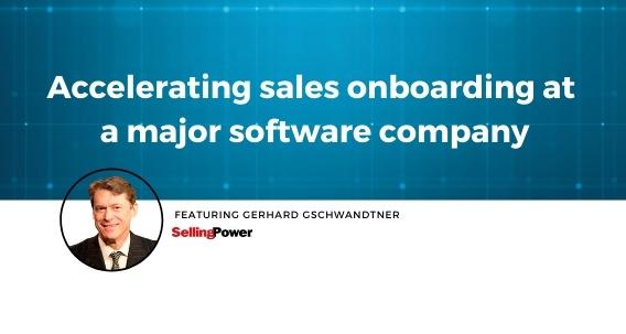 sales onboarding